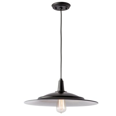 Avery 1-Light Mini Pendant Size: 6.5 H x 18 W x 18 D
