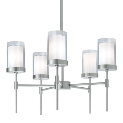 Scheidt 5-Light Shaded Chandelier