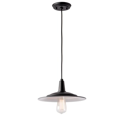 Avery 1-Light Mini Pendant Size: 5.25 H x 12 W x 12 D