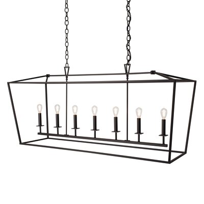 Cage 7-Light Foyer Pendant