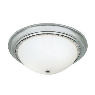 Soleil 2-Light Flush Mount Finish: Chrome