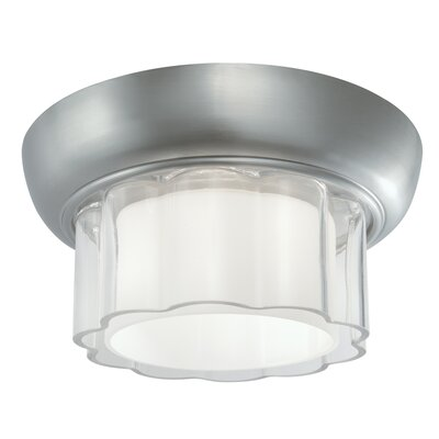 Carousel 1-Light Flush Mount Finish: Brush Nickel