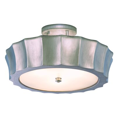 Isabel 4-Light Semi-Flush Mount Finish: Brush Nickel