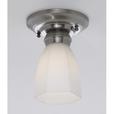 Mecer Hexagonal Semi Flush Mount Finish: Polished Nickel