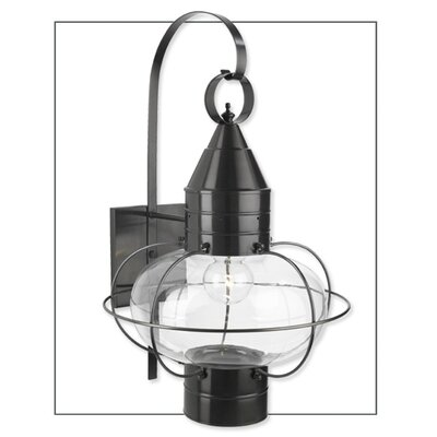 Classic Onion One Light Large Outdoor Wall Lantern