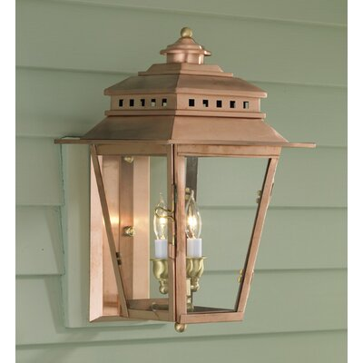 Copper Exterior Lantern | Wayfair