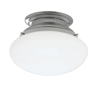 Clayton 1-Light Flush Mount