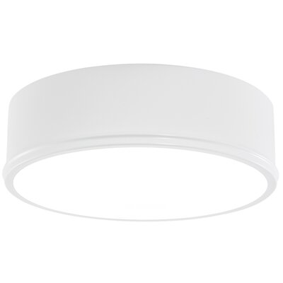 Getty LED Flush Mount Finish: Matte White