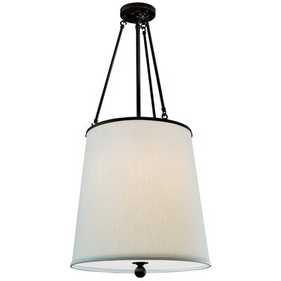 Ashton 3 Light Mini Pendant Finish: Matte Black