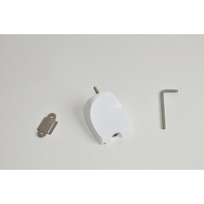Z-Bar Wall Mount Finish: White