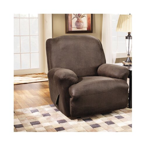 Sure Fit Stretch Leather Recliner Slipcover Ebay
