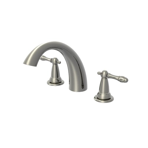 Estora Varese Double Handle Deck Mount Roman Tub Faucet   80 82011