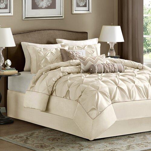Details about Madison Park Laurel 7 Piece Comforter Set
