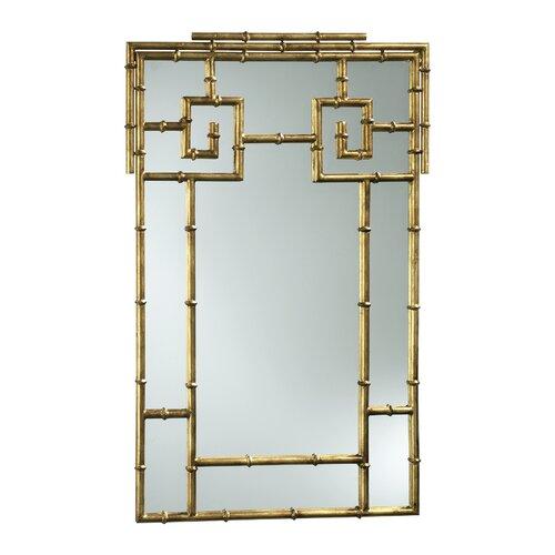 Cyan Design Rustico Twist Mirror in Birchwood and Bronze