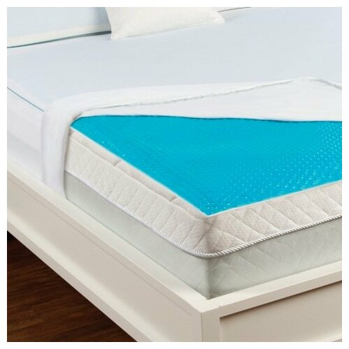 Luxury Home Hydraluxe Cooling Gel Bed Mattress Pad Ebay