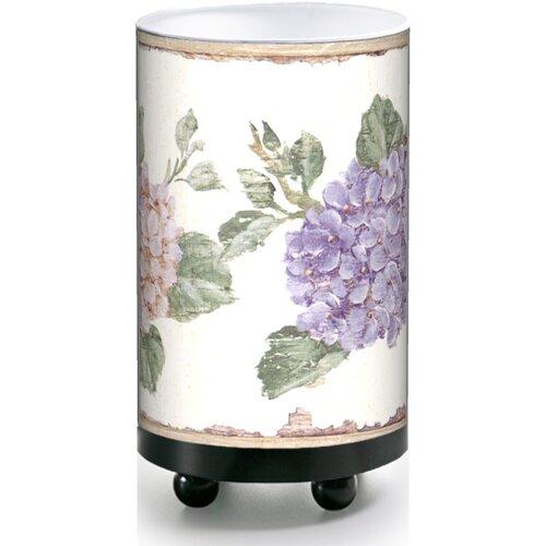 details about illumalite designs small hydrangeas accent table lamp. Black Bedroom Furniture Sets. Home Design Ideas
