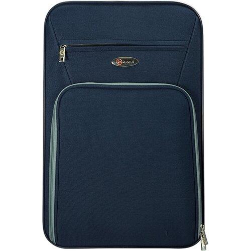 Benzi 3 Piece Expandable Luggage Set Black BZ3496BLACK