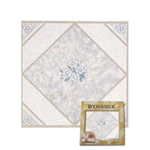 Home Dynamix Vinyl White Flower Floor Tile Set Of 20 20pcs 5952