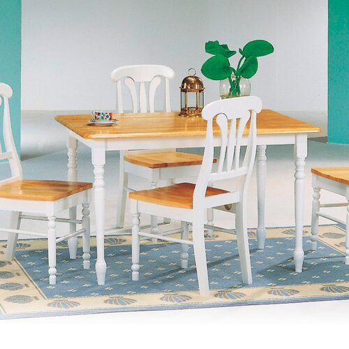 Butcher Block Kitchen Tables And Chairs: Morrison Rectangular Butcher Block Dining Table In Natural