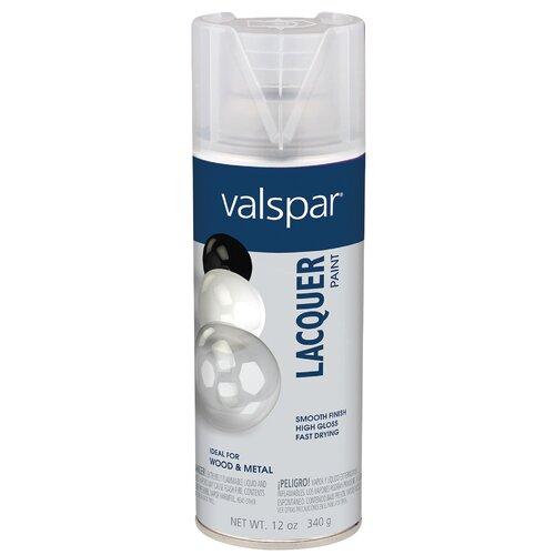 valspar clear lacquer spray paint gloss set of 6 ebay. Black Bedroom Furniture Sets. Home Design Ideas