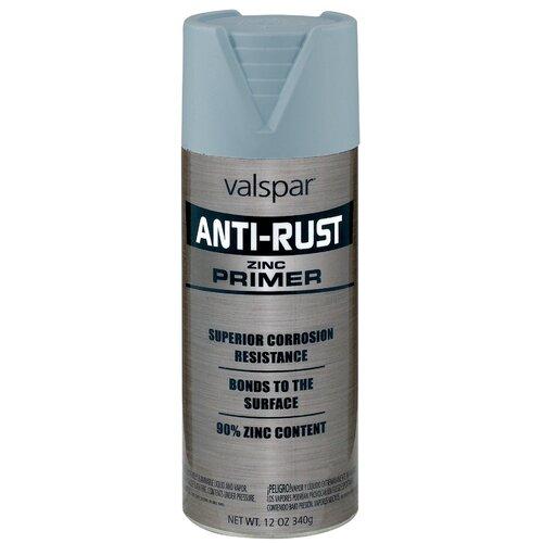 about valspar zinc anti rust oil based primer spray paint set of 6. Black Bedroom Furniture Sets. Home Design Ideas