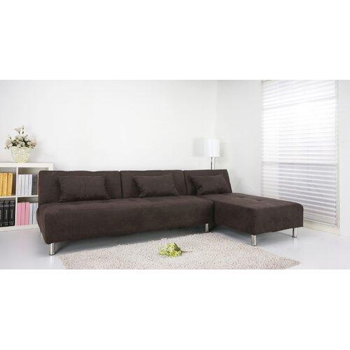 Gold Sparrow Atlanta Convertible Sectional Sleeper Sofa Ebay