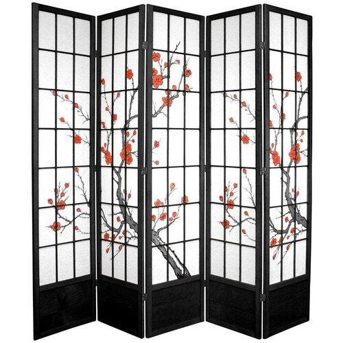 Oriental Furniture 84 Cherry Blossom Shoji Room Divider