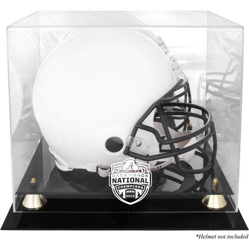 Alabama Crimson Tide 2012 BCS Champions Helmet Display Case