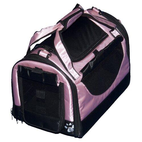 Pet Gear World Traveler Tote Bag Pet Carrier in Crystal Pink