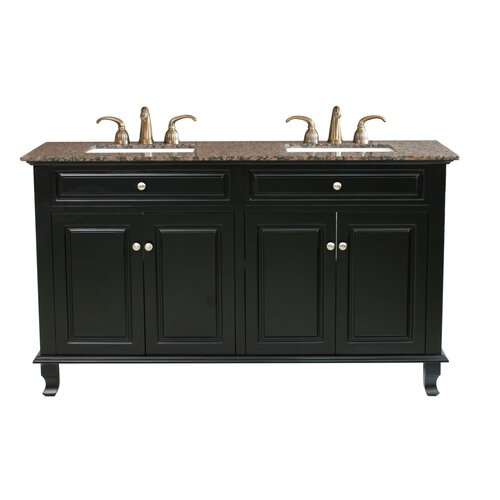 Wayfair – Bellaterra Home Lewis Double Vanity Set