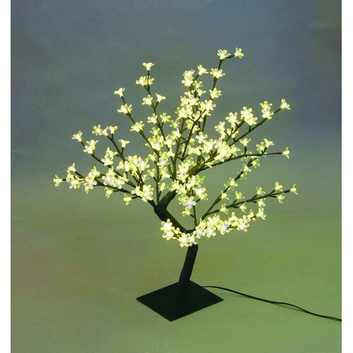 Motion Desktop Cherry Blossom Tree with 64 Piece Warm White LED Lights