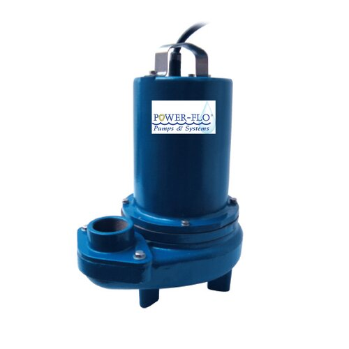 Pumps Sewage 2 Submersible Pump 0 75 HP 7 3/7 0 Amps on