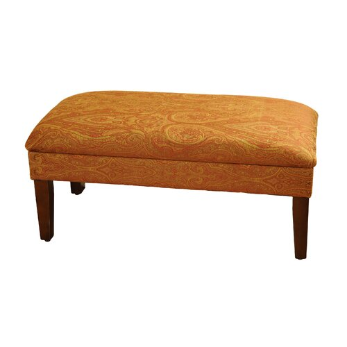 Details about Kinfine Upholstered Storage Bedroom Bench