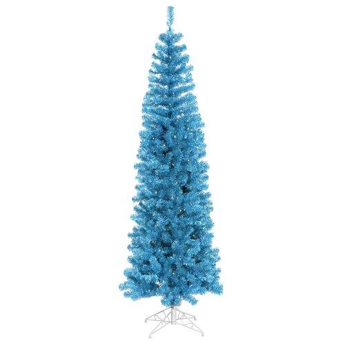 Vickerman 6.5 Artificial Christmas Tree in Sky Blue