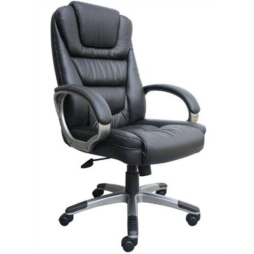 boss office products high back leatherplus executive chair b8601 2