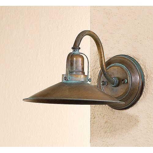 Diy Wall Light Sconces : Lustrarte Lighting Rustic DAvo One Light Wall Sconce 402 00 00