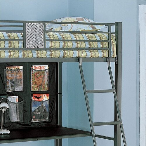 Powell Monster Bedroom Twin Study Bunk Bed With Desk And