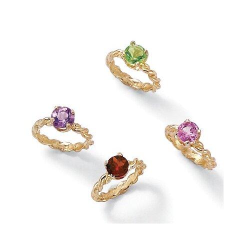 palm jewelry 10k gold baby charm birthstone ring ebay