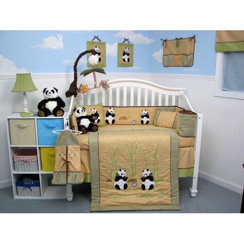 Soho Designs 13 Piece Giant Panda Bear Baby Crib Nursery Bedding Set Giantpanda