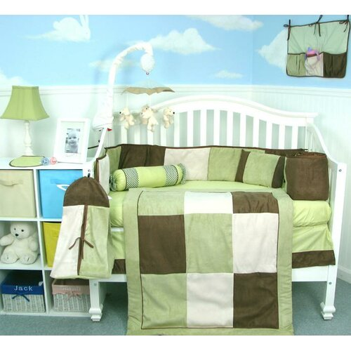fall-baby-shower-gifts-suede-crib-bedding