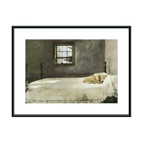 printfinders master bedroom by andrew wyeth framed painting print