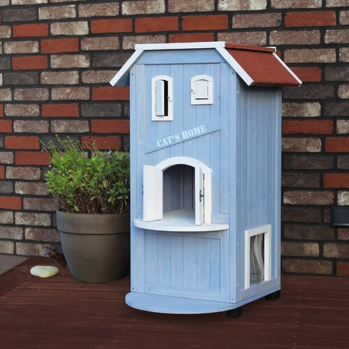 Details about Trixie Pet Products 3-Story Cat's House