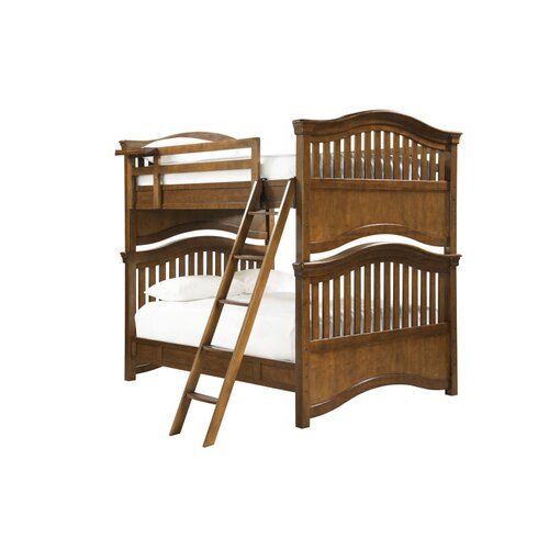 Berg Utica Loft Twin Over Full L Shaped Bunk Bed With Bookshelves And