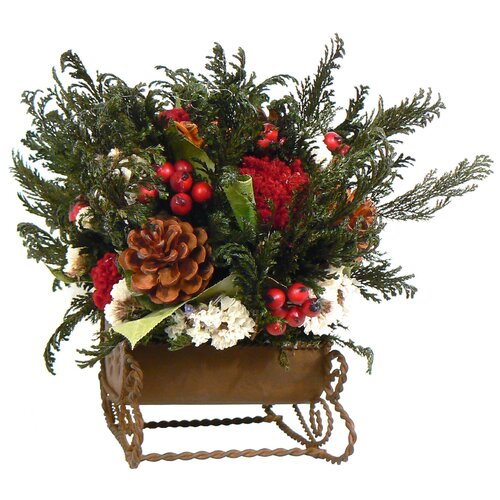 Christmas centerpieces buy holiday faux floral
