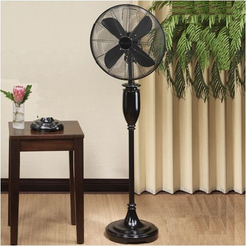 Deco Breeze Blackwood Decorative Floor Fan