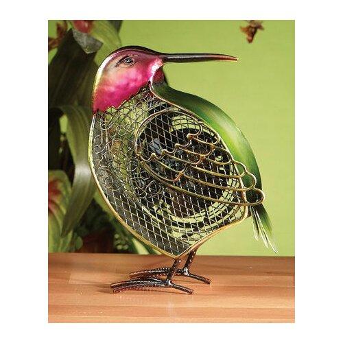 Deco Breeze Small Hummingbird Figurine Table Top Fan