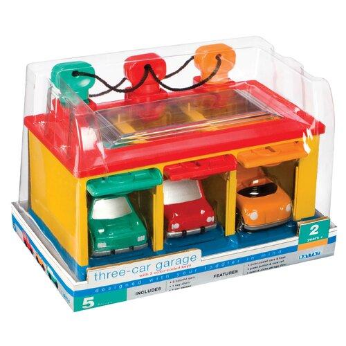 Battat Three Car Garage Playset Toy 68703 eBay qdoBFUd8