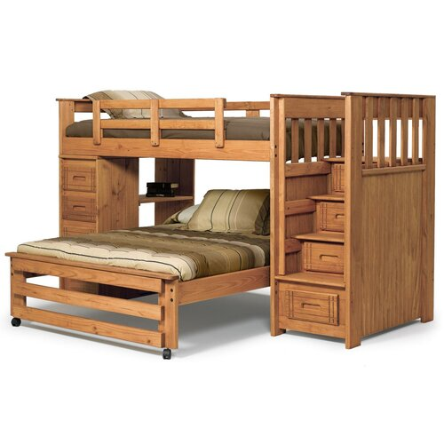 Twin Over Full Lshaped Bunk Beds 500 x 500