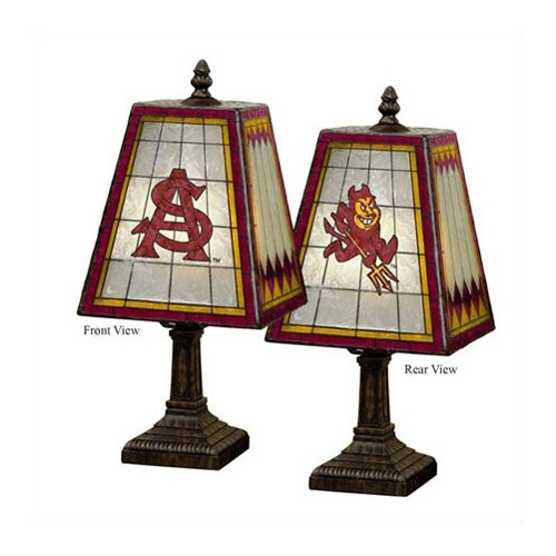 The Memory Company NCAA Art Glass Table Lamp   COL   X   462