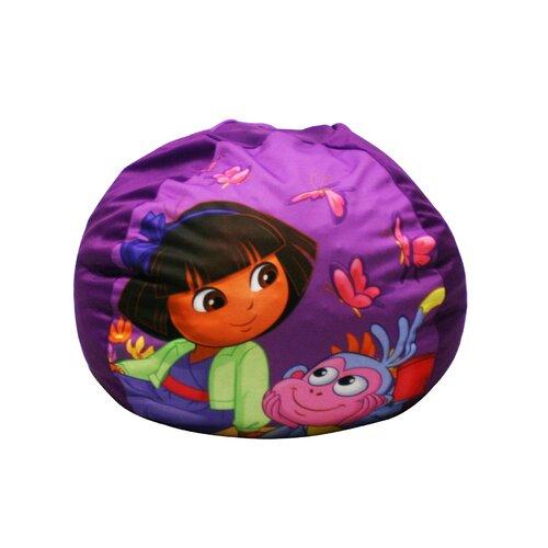 Newco Kids Dora The Explorer Picnic Bean Bag Chair EBay